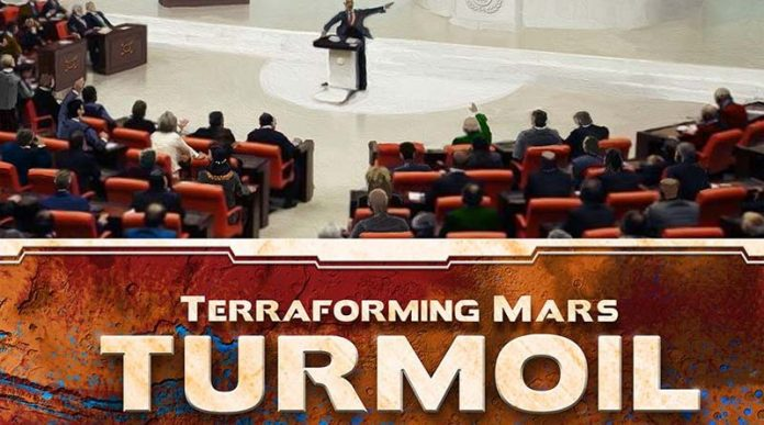 Portada de Terraforming Mars: Turmoil