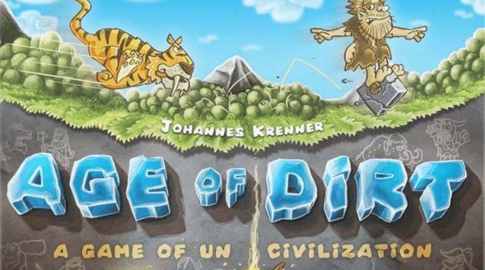Título de Age of Dirt: A Game of Uncivilization