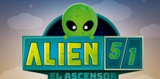 Logotipo de alien 51: El Ascensor