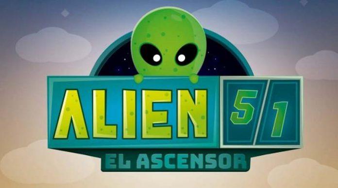 Logotipo de alien 51: El Ascensor