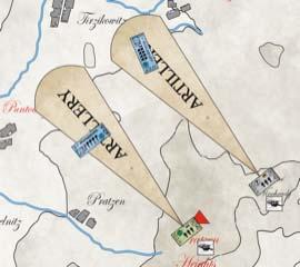 Fuego de artillería Austerlitz 1805