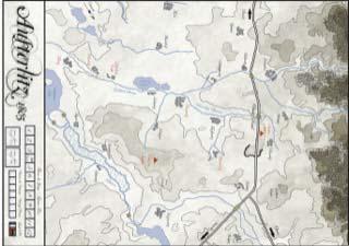 Mapa de Austerlitz 1805