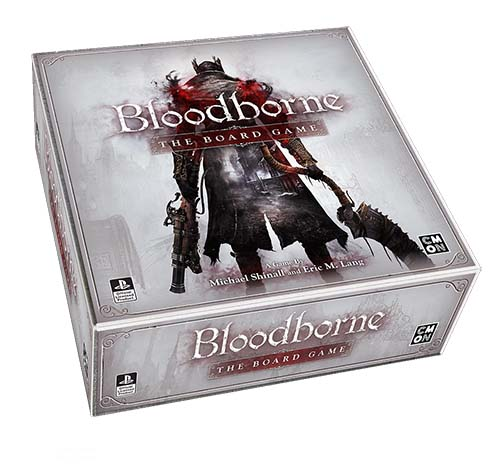 Portada de Bloodborne. The Board Game