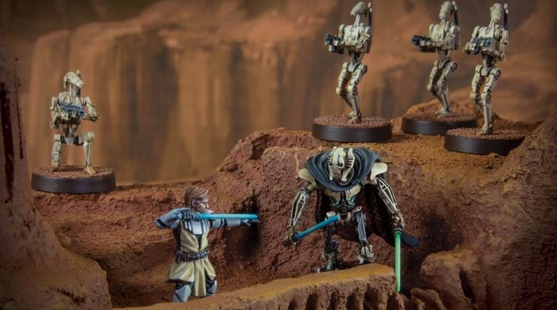 Core set de Clone wars para Star wars Legion