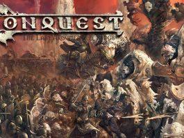 Ilustración de la portada de Conquest
