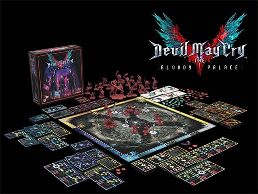Componentes de Devil May Cry: The Bloody Palace