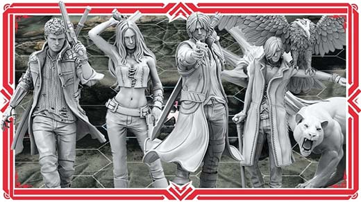 Miniaturas Devil May Cry: The Bloody Palace