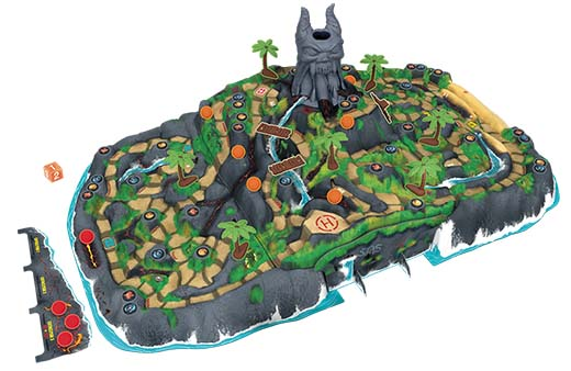 Nuevo diseñó en 3D de La isla del fuego: La maldición de Vulkar
