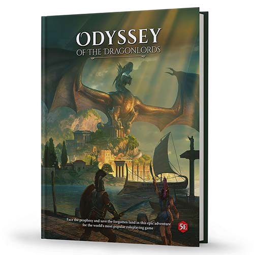 Portada de Odyssey of the Dragonlords