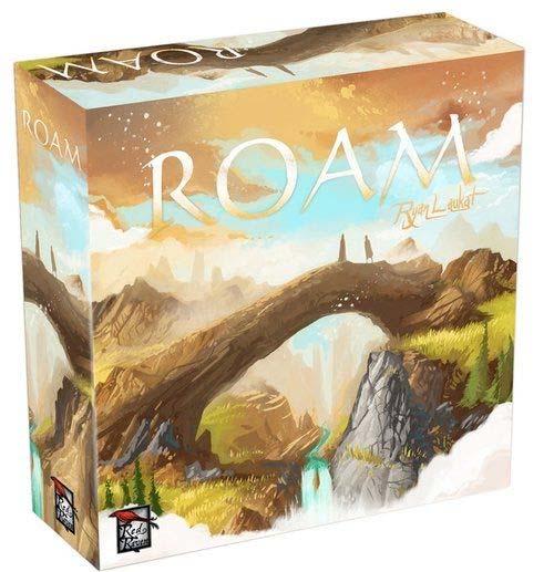 Caja del juego de mesa Roam