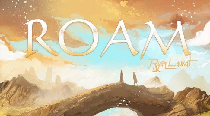 Detalle de la portada y logotipo de Roam