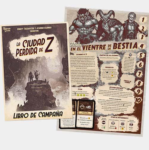 Campaña de la expansión de robinson crusoe relatos misteriosos
