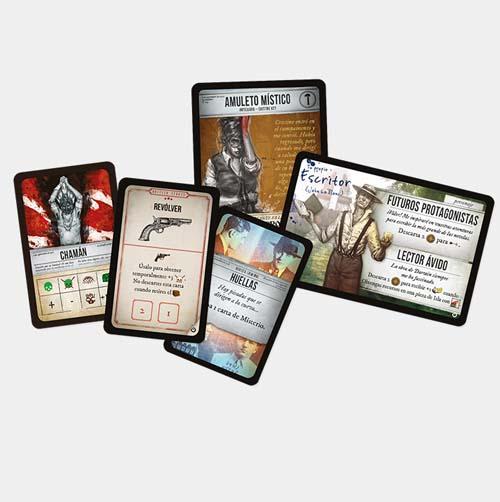 Cartas de la expansión para robinson crusoe relatos misteriosos