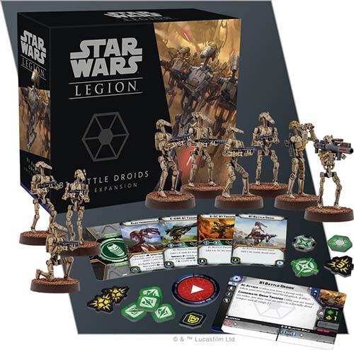 Expansión de droides de batalla para star wars legion