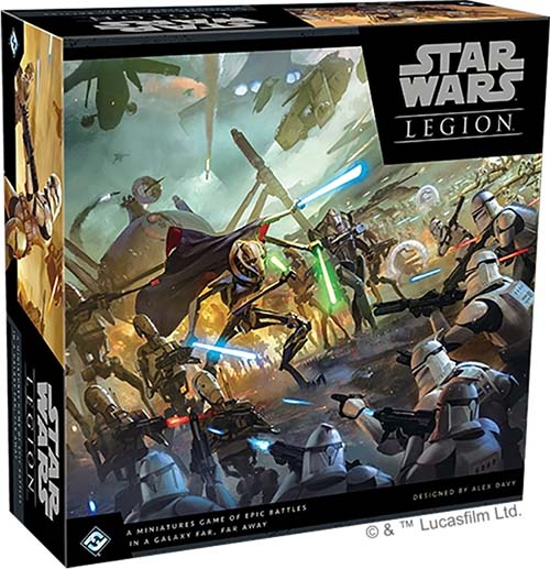 Portada del Core set de Clone wars para Star wars Legion