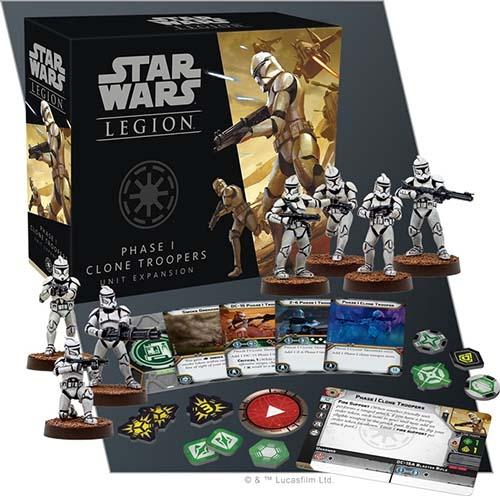 Expansión de clones storm troopers para star wars legion