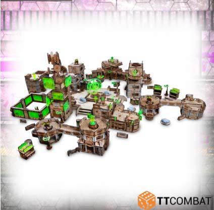 Escenografía de TT-Combat