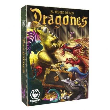Portada de El Tesoro de los Dragones