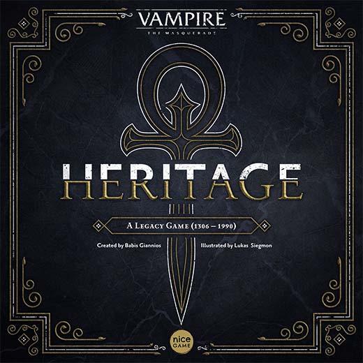 Portada de Vampiro: La Mascarada Heritage