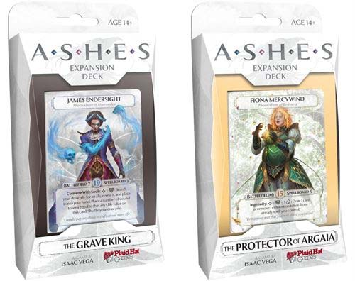 Los mazos The Grave King y The Protector of Argaia, los últimos de Ashes: Rise of the Phoenixborn
