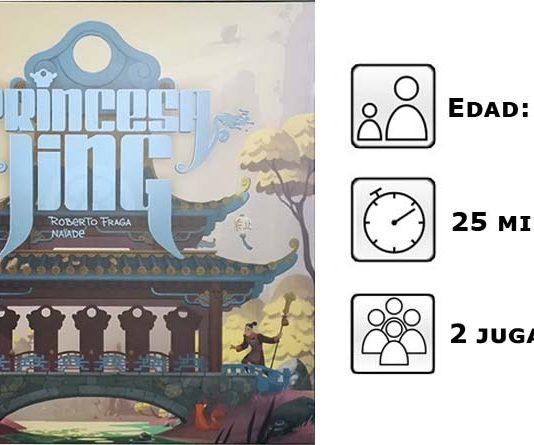Princesa Jing, datos del juego