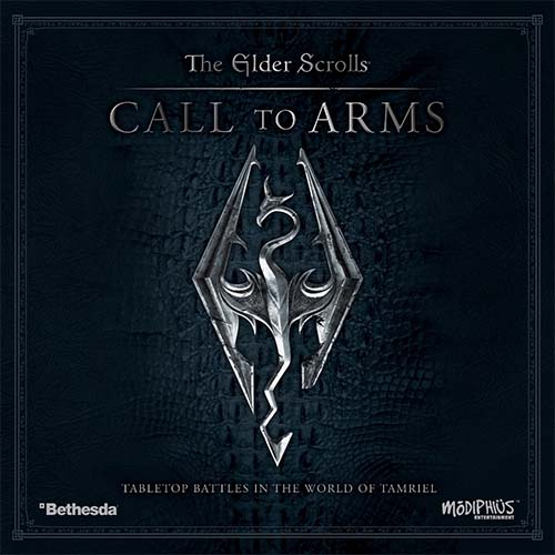 Portada del juego de mesa The Elder Scrolls: Call to Arms