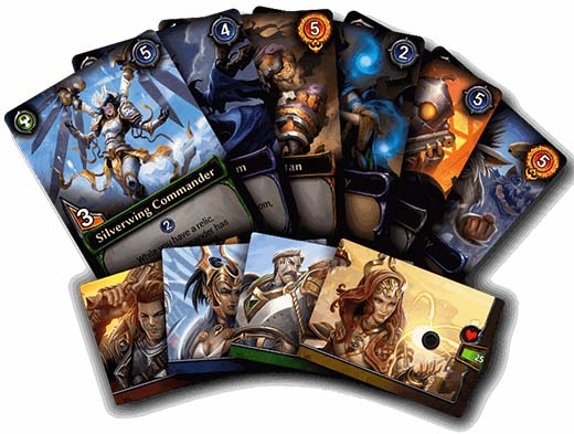 Cartas de Eternal: Chronicles of the Throne