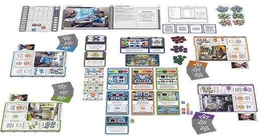 Componentes de Gen7: A crossroad Game