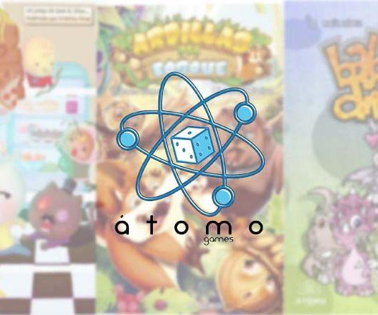 Novedades de Atomo games de mayo