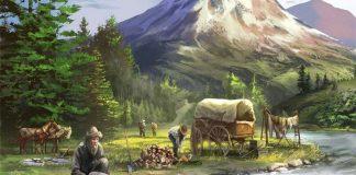 Detalle de la portada de Sierra West