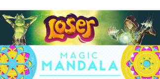 logotipos de Magic Mandala y Loser