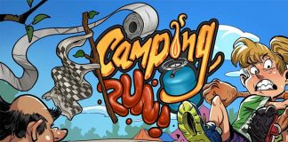 Logotipo de Camping Run
