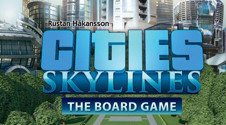Logotipo del juego de mesa Cities Skyline