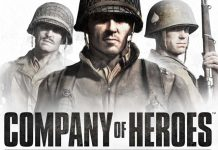 Portada del juego de mesa Company of heroes