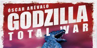 Detalle de la portada de Godzilla Totral War