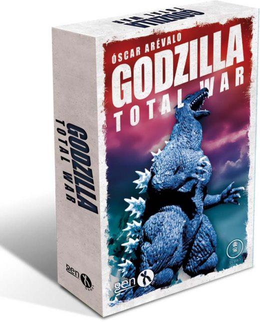 Portada de Godzilla Total War