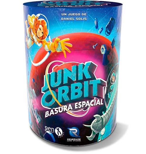 Portada de Junk Orbit