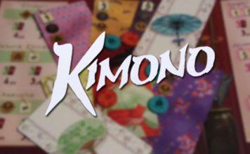 Logotipo del juego de mesa Kimono
