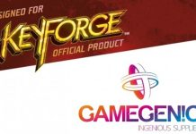 Logotipos de Key Forge y Gamegenic