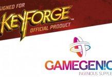 Logotipos de Key Forge y Gamegenic