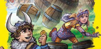 Detalle de la portada del valle de los vikingos, ganador del kinderspiel des jahres 2019