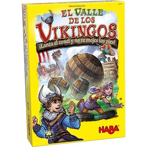 Portada de El Valle de los Vikingos, ganados del Kinderspiel des Jahres 2019