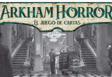 Logotipo de Arkham horror el juego de cartas