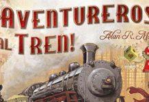 logotipo de aventureros al tren