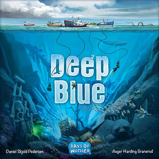 Portada del juego de mesa de Days of wonder deep blue