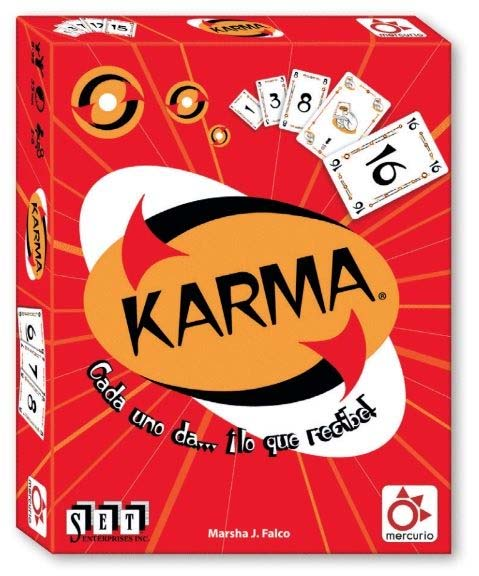 Portada del juego de cartas Karma