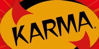 Logotipo del juego de cartas de Mercurio Karma