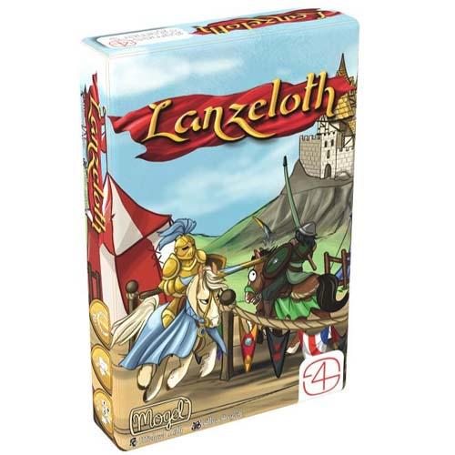 Portada de la edición en castellano de Lanzeloth de Games4gamers