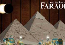 Juego de mesa la maldición del faraón