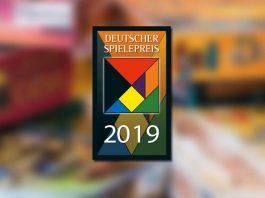 logotipo de los 2019 Deutscher SpielePreis